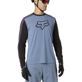 Fox Ranger Dri-Release Foxhead LS Jersey Men, matte blue